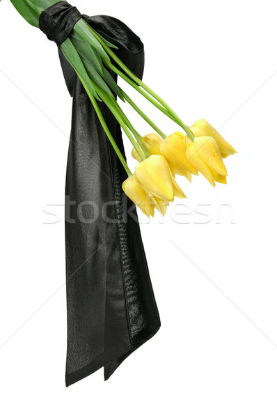 bouquet of yellow flowers Stock photo © serg64