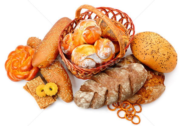 Collection of bread products Stock photo © serg64