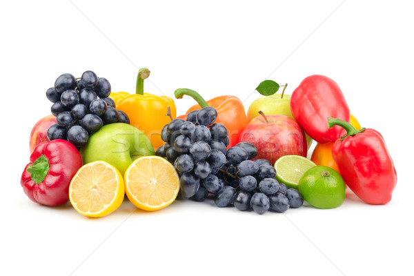 Composition of fruits and vegetables  Stock photo © Serg64