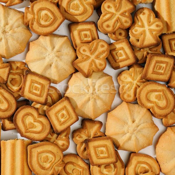 Confeitaria produtos chocolate fundo jantar gordura Foto stock © serg64