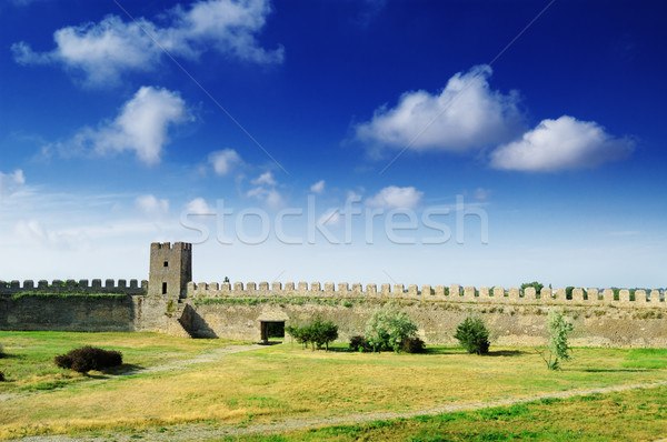 medieval fortress Stock photo © Serg64
