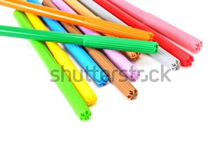 Stock photo: soft-tip pen