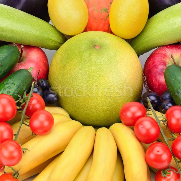 свежие плодов овощей оранжевый группа красный Сток-фото © serg64
