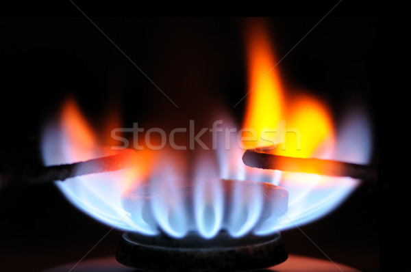 gas burner Stock photo © Serg64
