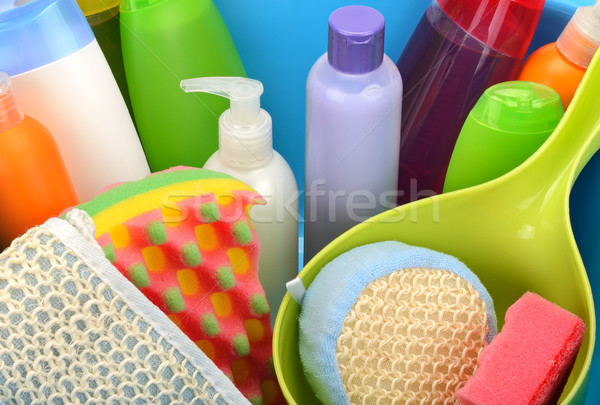 Set detergents Stock photo © serg64
