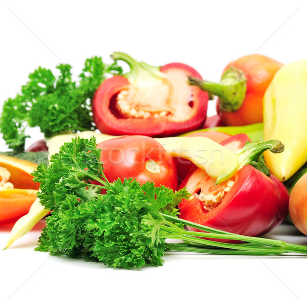 collection vegetables  Stock photo © Serg64