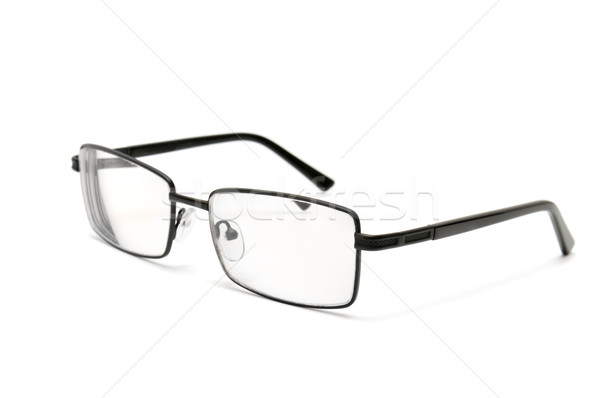Gafas aislado blanco moda médicos vidrio Foto stock © Serg64
