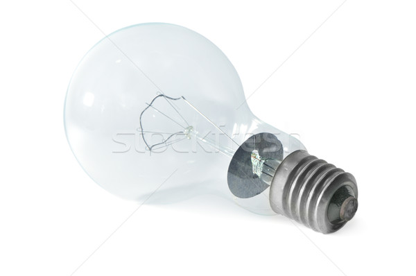 Stock photo: electric light bulb