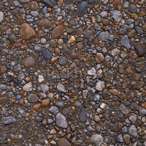 Kavics sóder textúra kő út természet Stock fotó © serge001