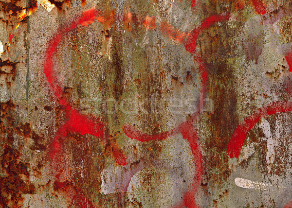 Grunge painted metal texture or background Stock photo © serge001