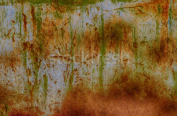 Rusty painted metal background or texture Stock photo © serge001