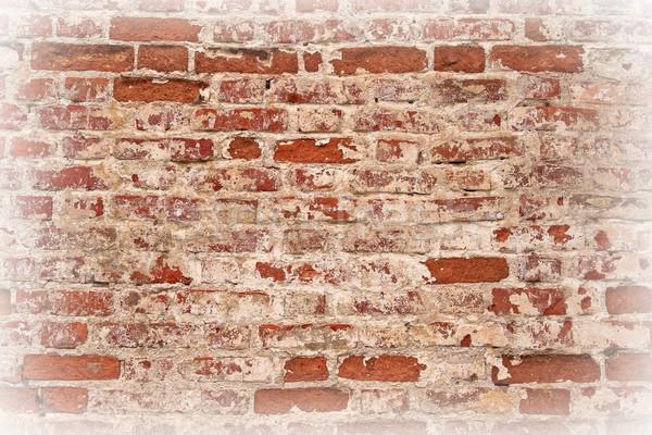 Muro di mattoni immagine vecchio costruzione muro urbana Foto d'archivio © serpla