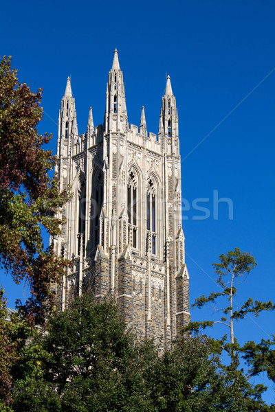 Duke Chapel Bell Tower Stock photo © sframe