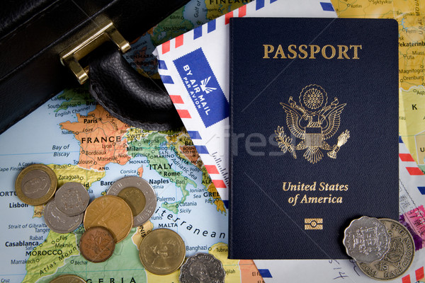 International Business Travel Stock photo © sframe