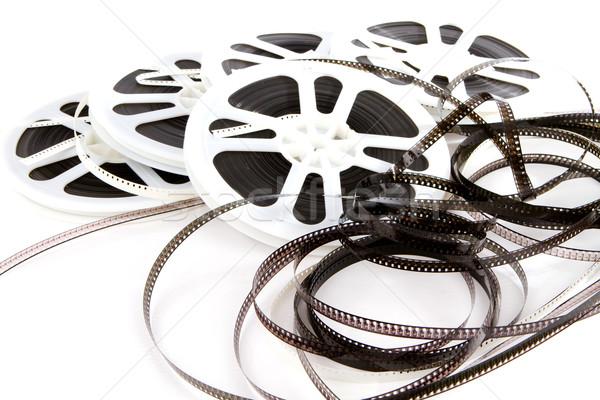 устаревший фильма СМИ старые 8мм Сток-фото © sframe