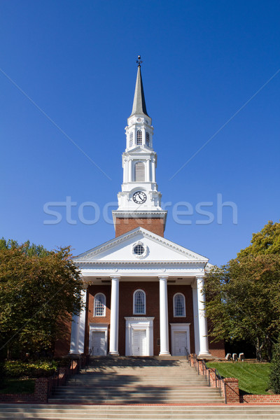 Universiteit Maryland kapel campus college park Stockfoto © sframe