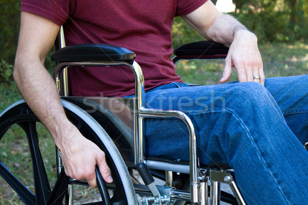 Disability Man Wheelchair Stock photo © sframe