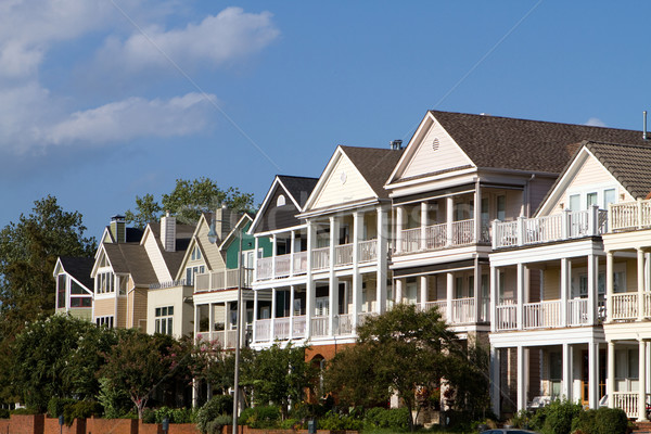 Executive Townhomes Stock photo © sframe
