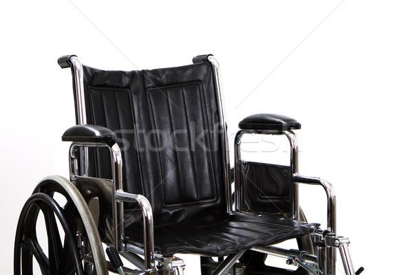 車いす 黒 座席 白 医療 ストックフォト © sframe