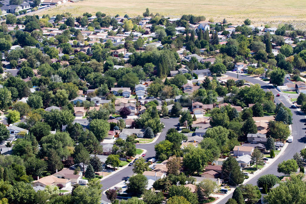 Suburbs Aerial Stock photo © sframe