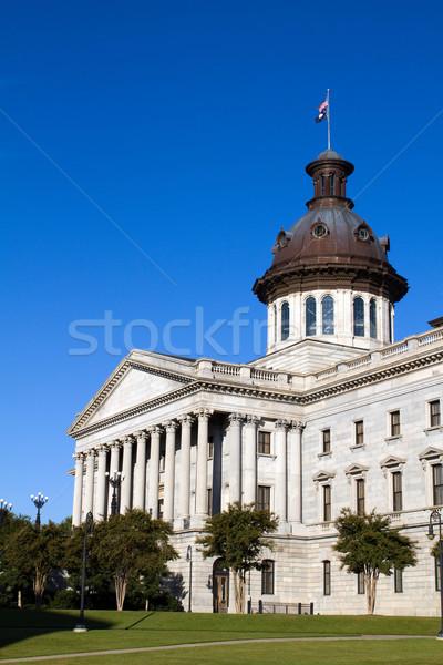 サウスカロライナ州 建物 市 空 家 青 ストックフォト © sframe