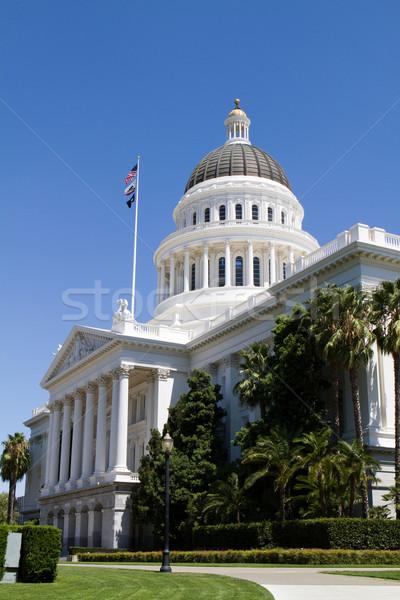カリフォルニア 建物 ドーム 青 旅行 歴史 ストックフォト © sframe