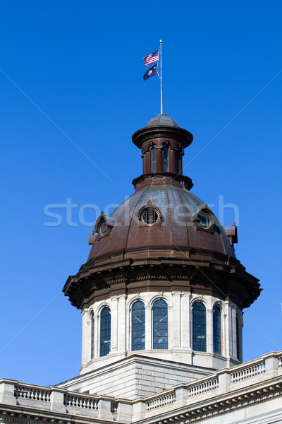 Güney Carolina kubbe ev Bina mavi mimari Stok fotoğraf © sframe