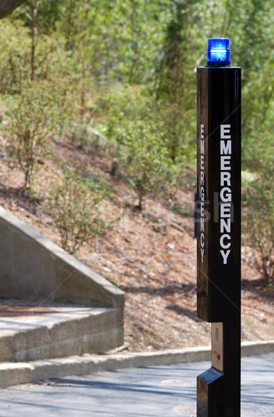 чрезвычайных маяк помочь вызова окна Сток-фото © sframe