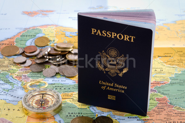 International Traveler Passport Stock photo © sframe