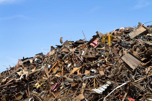 рециркуляции металл готовый расплавленный вниз Сток-фото © sframe