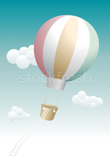 échapper ballon vacances air aventure concept Photo stock © sgursozlu