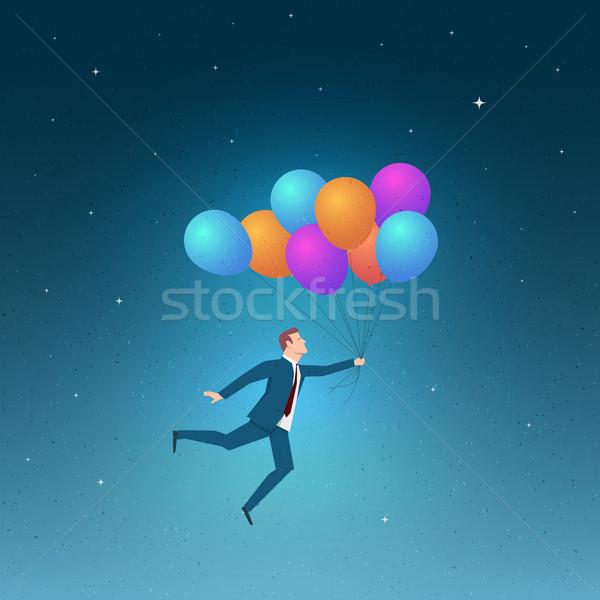 Negócio crescimento sucesso oportunidades elementos Foto stock © sgursozlu