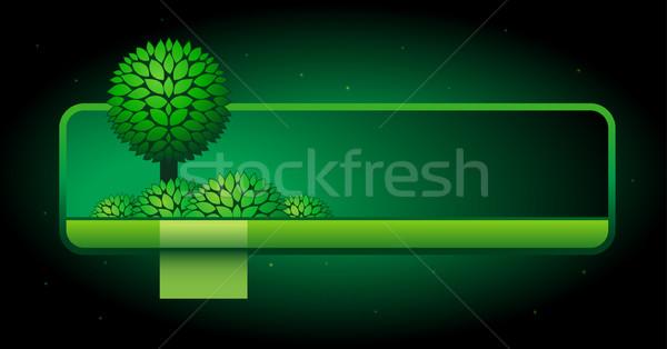 Vector web site design template. Stock photo © sgursozlu