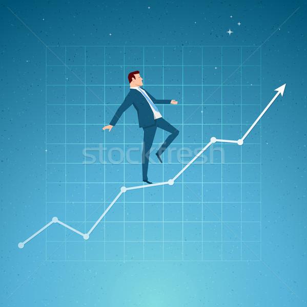 Negócio crescimento saldo sucesso elementos Foto stock © sgursozlu