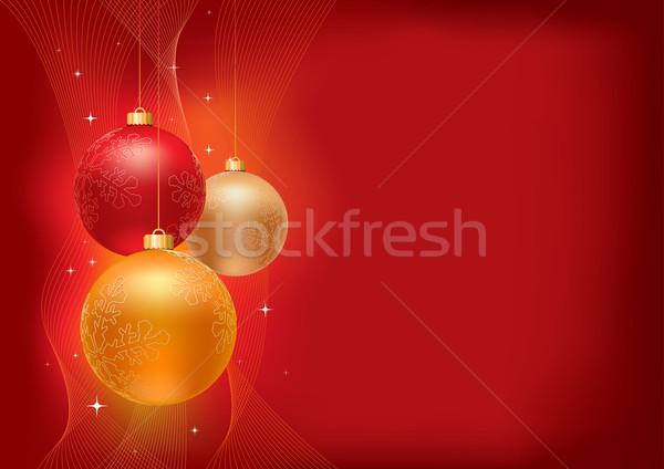 Natal coleção elementos separadamente Foto stock © sgursozlu