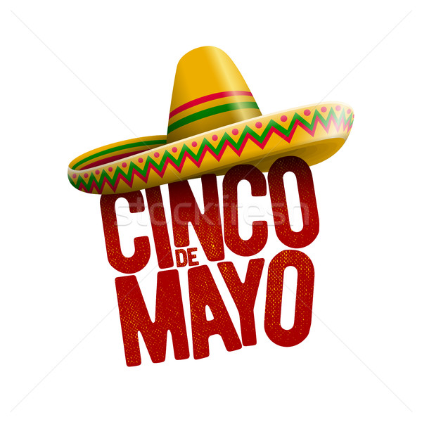 Cinco de Mayo design Stock photo © sgursozlu