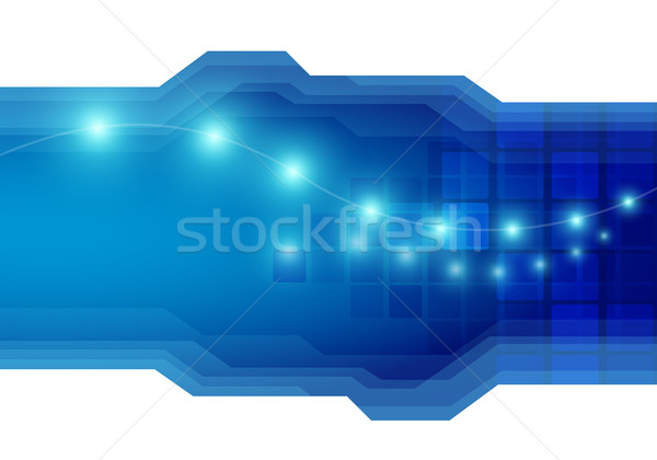 Vector abstract technology background Stock photo © sgursozlu