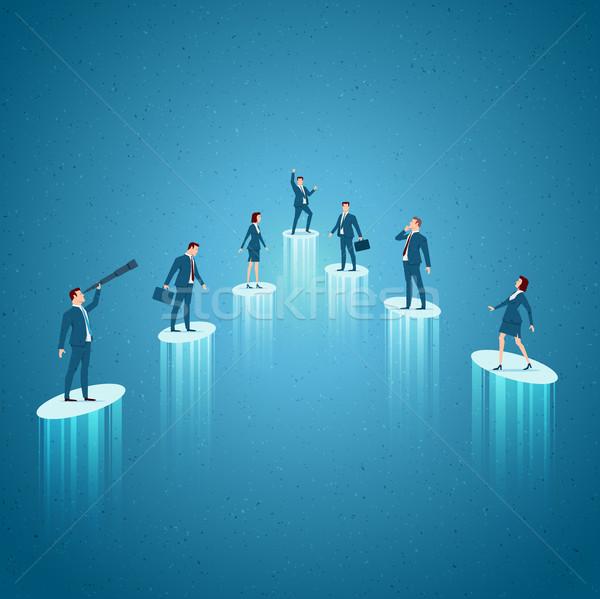 Negócio crescimento sucesso ganhar oportunidades Foto stock © sgursozlu