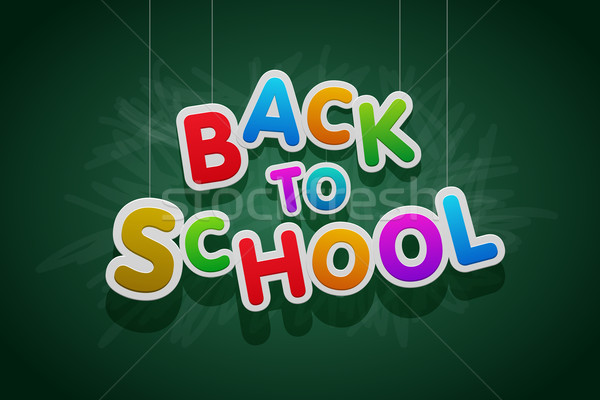 Back to School Stock photo © sgursozlu