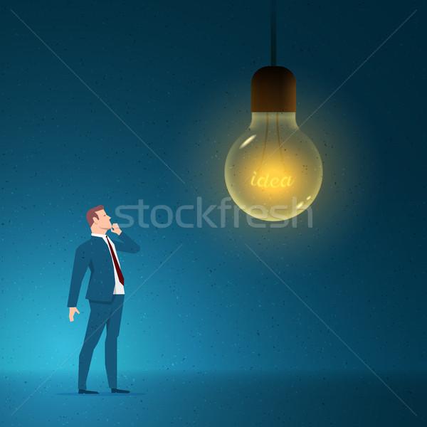 Negócio pensando idéia criatividade elementos Foto stock © sgursozlu