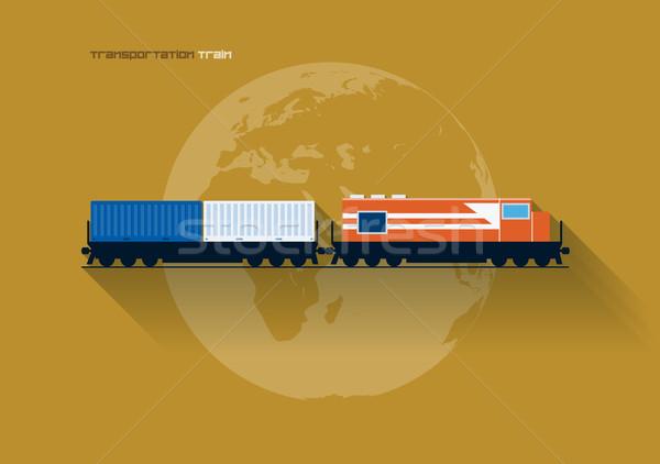 Stock photo: Transportation concept - Train