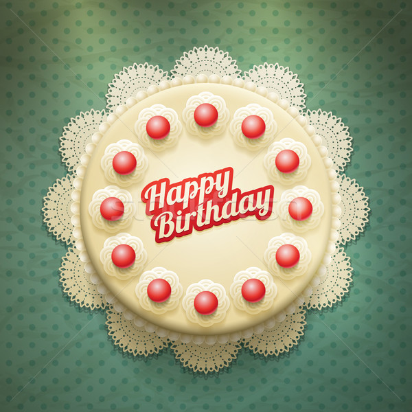Birthday Cake Stock photo © sgursozlu