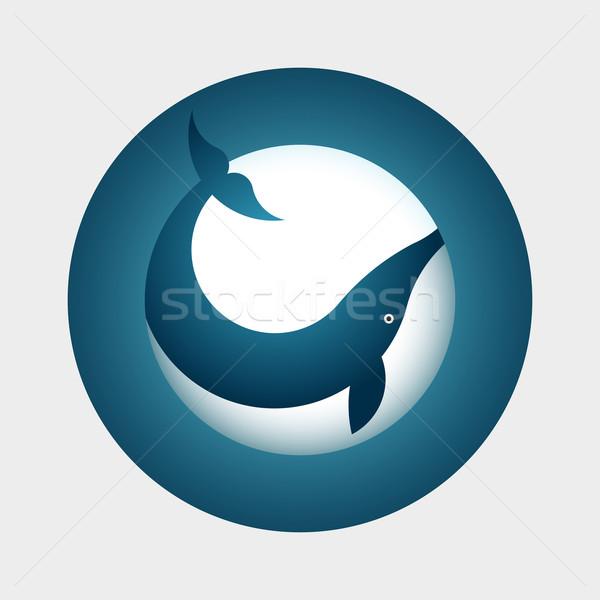 Whale Symbol Stock photo © sgursozlu