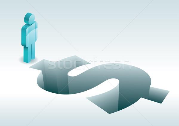 Dólar 3D elementos separadamente Foto stock © sgursozlu