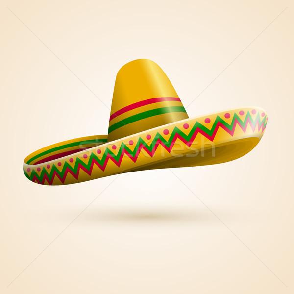 Cinco de Mayo hat Stock photo © sgursozlu
