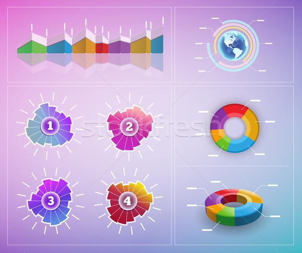Stock photo: Vector infographic elements