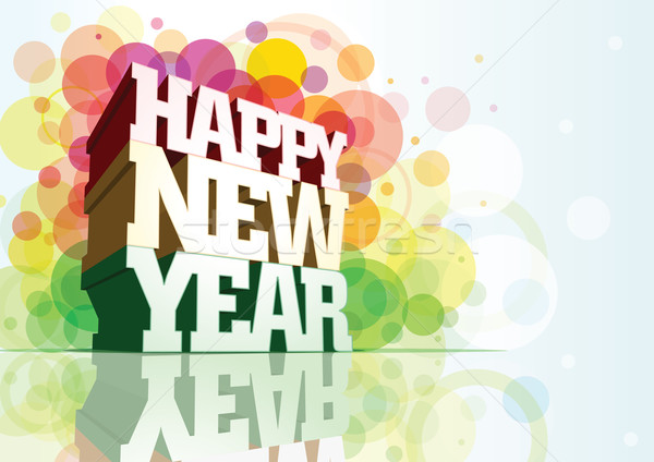 Happy New Year! Stock photo © sgursozlu