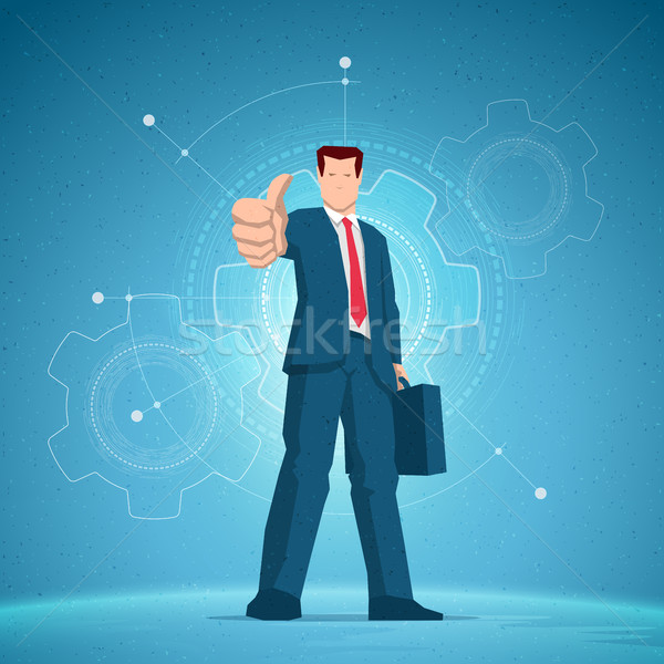 Business concept illustration.  Stock photo © sgursozlu