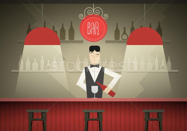 Barman Stock photo © sgursozlu