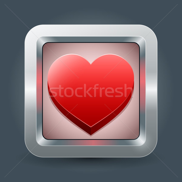 Love icon Stock photo © sgursozlu